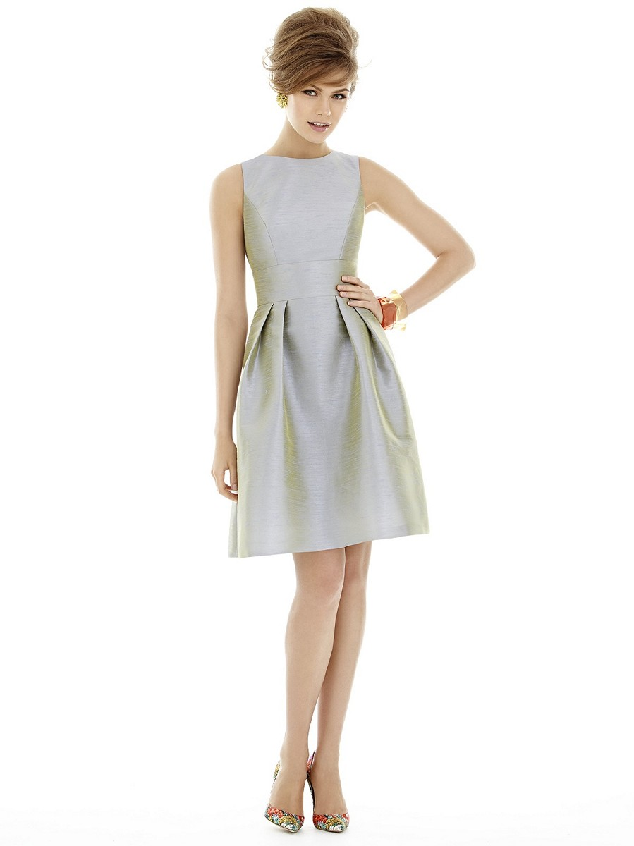Alfred Sung D679 Quick Delivery Bridesmaid Dress