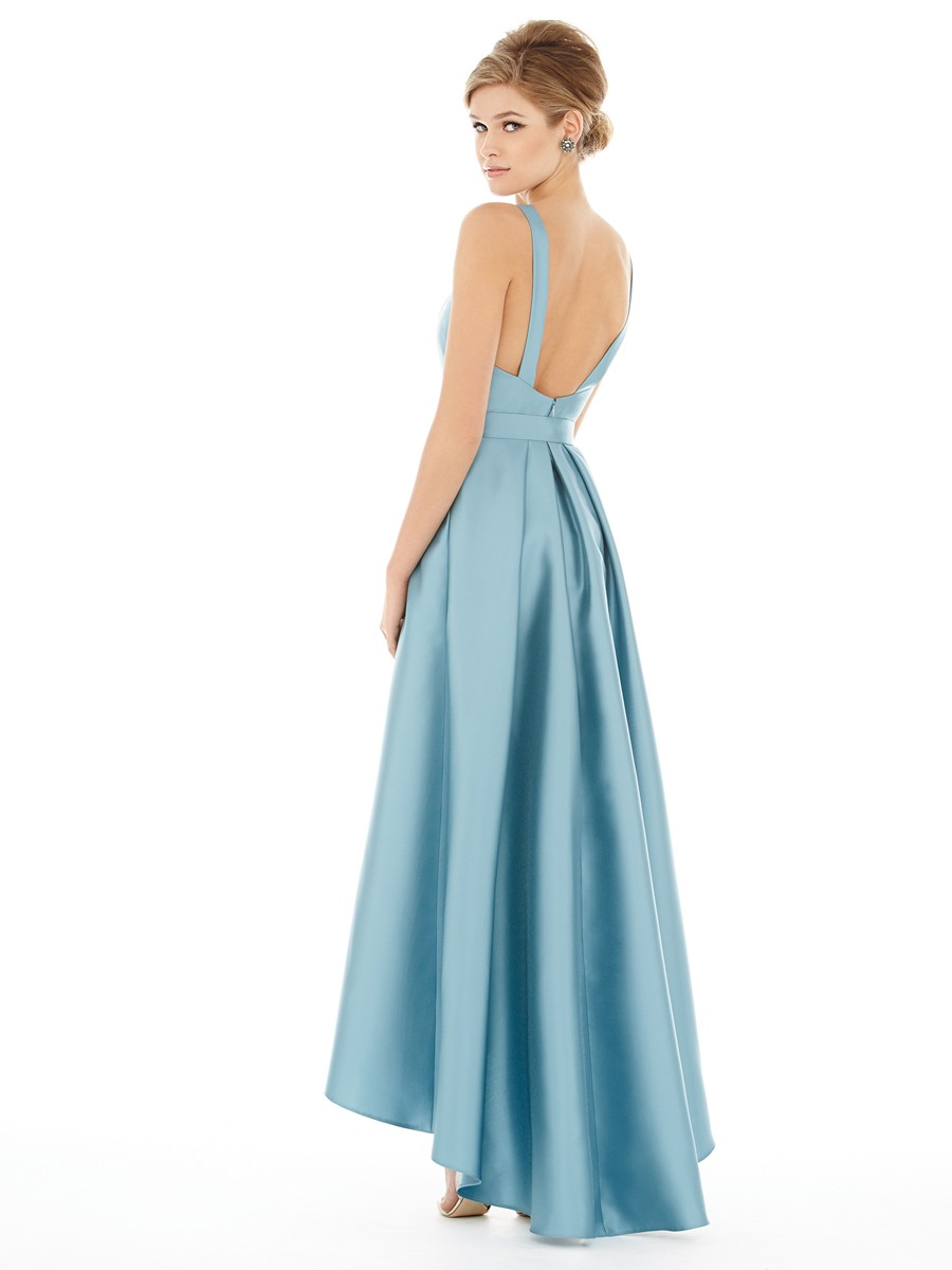 alfred sung d706 bridesmaid dress