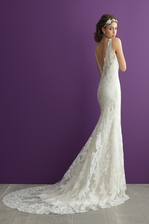 Allure bridals romance 2960 wedding dress for Allure romance wedding dress