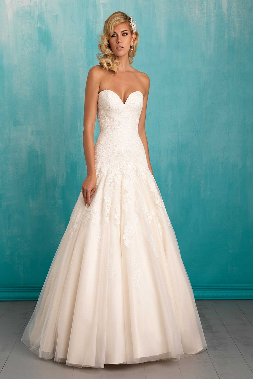 Allure bridals 9314 wedding dress for Wear to a wedding dress