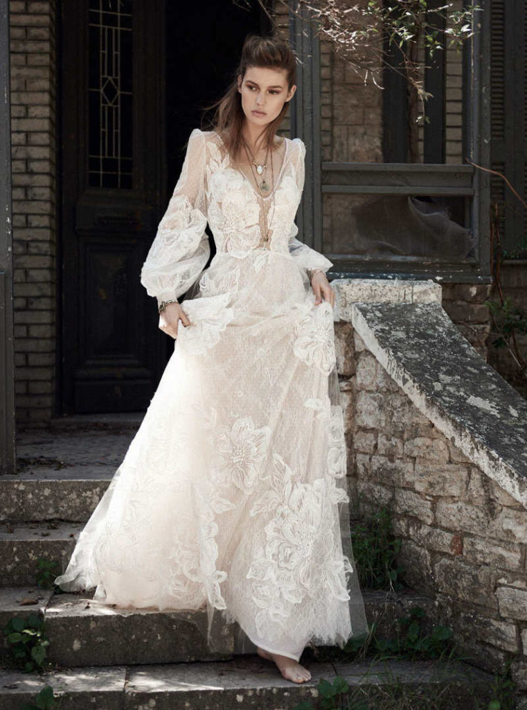 12 Boho Wedding Dresses For A Breezy Summer Wedding
