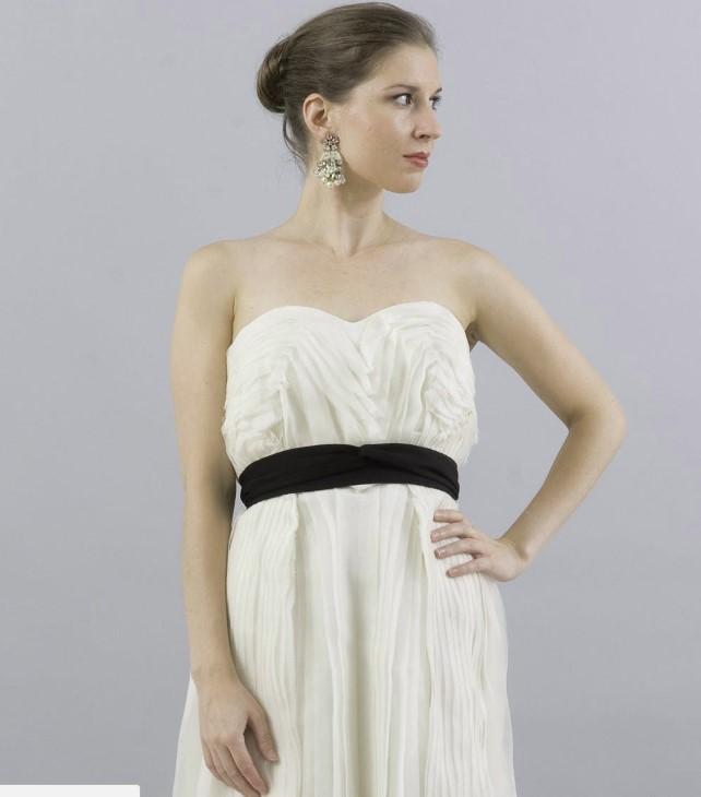 temperley london goddess black and white wedding dresses