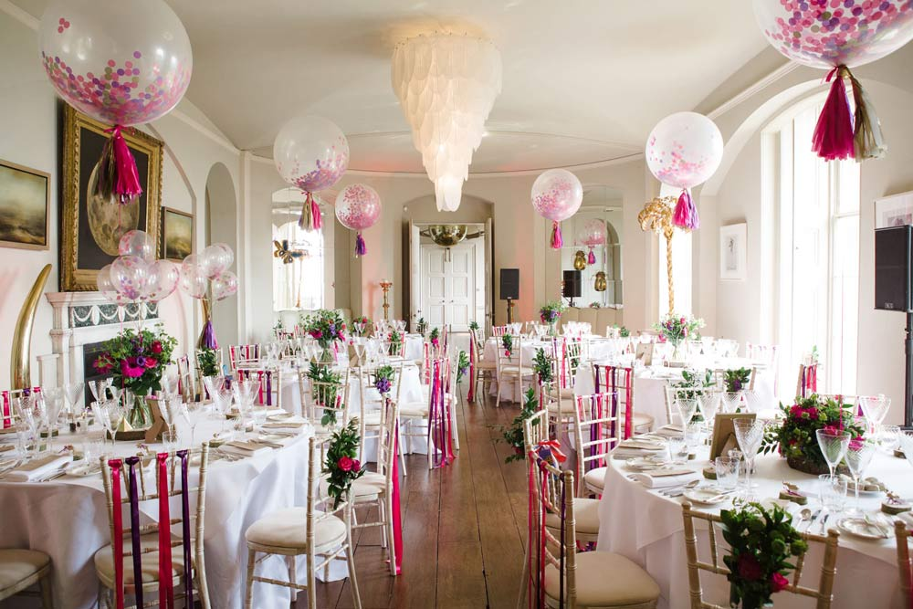 wedding balloon decoration ideas for the ceremony and the reception rh madamebridal com