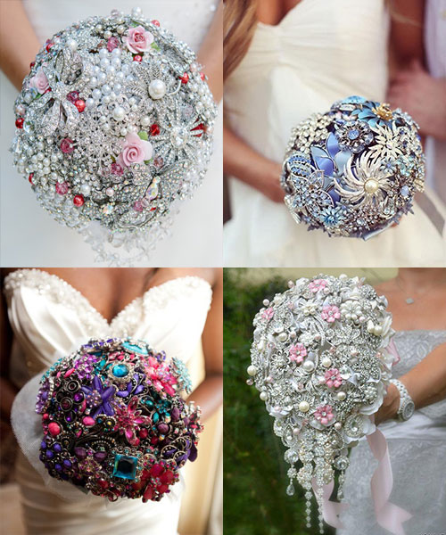 Alternative Wedding Bouquet Ideas 9 Fab Non Floral Bridal Bouquets