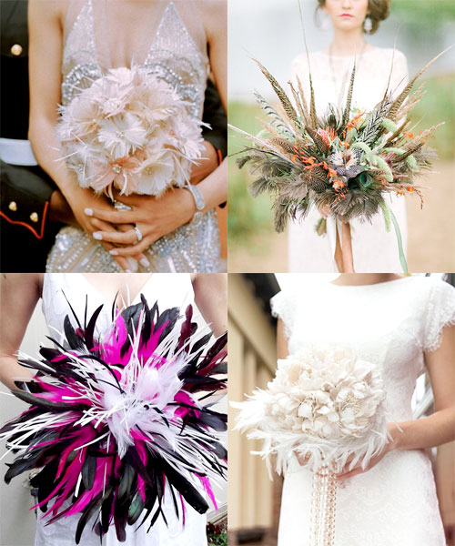 The Dazzling Way Brides Are Blinging Out Their Bouquets