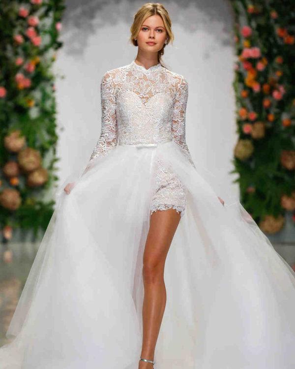 238cf170b52a Hottest Trends for Fall 2019 - New York Bridal Fashion Week
