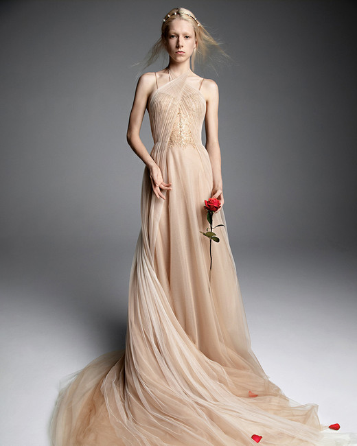 6139a8e6eb4 vera wang fall 2019. Gone are the days when wedding dresses ...