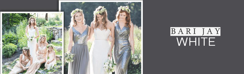 Bari Jay White Wedding Dresses is the Epitome of Casual Elegance