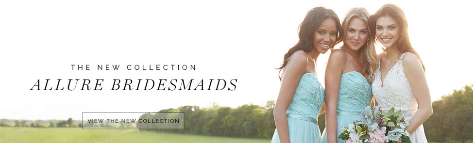 Allure Bridals Bridesmaid Dresses for Fashion-Conscience Weddings