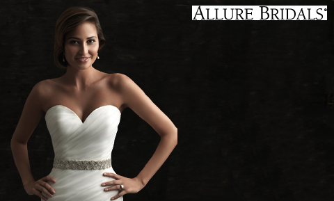 Allure Bridal Sashes Make the Difference