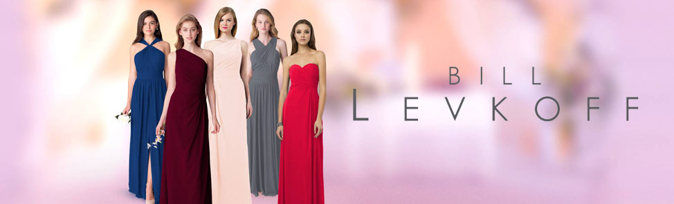 Bill Levkoff Bridesmaid Dresses for an Affordable Wedding