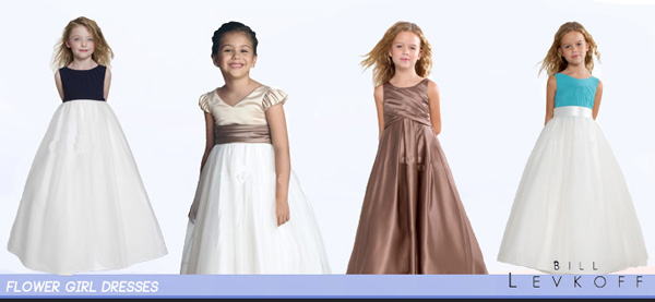 Bill Levkoff Adorable Flower Girl Dresses