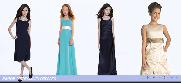 Bill Levkoff Junior Dresses for Bridesmaids Collection