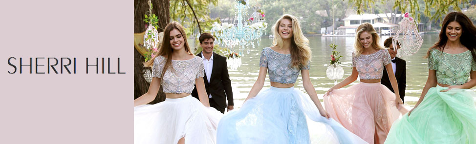 Sherri Hill Collection of Prom Dresses for 2017
