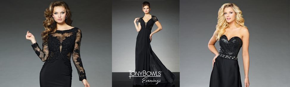 Tony Bowls Evenings Dresses are Grand!