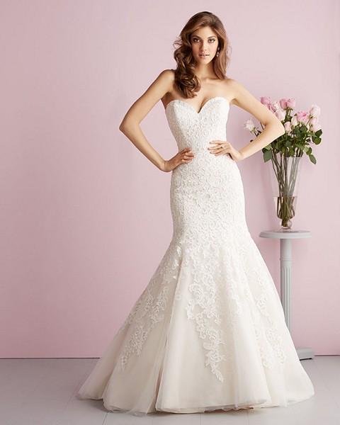Allure Modest Wedding Gowns: Allure Bridals 2709 Wedding Dress