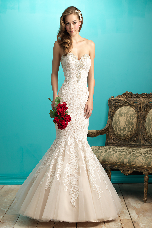 Allure Bridals 9266 Bridal Gown | MadameBridal.com