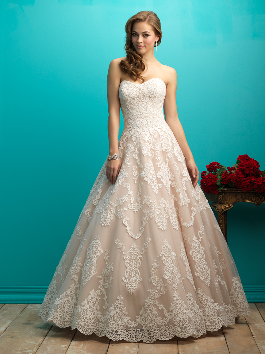 Allure Bridals 9268 Wedding Dress | MadameBridal.com