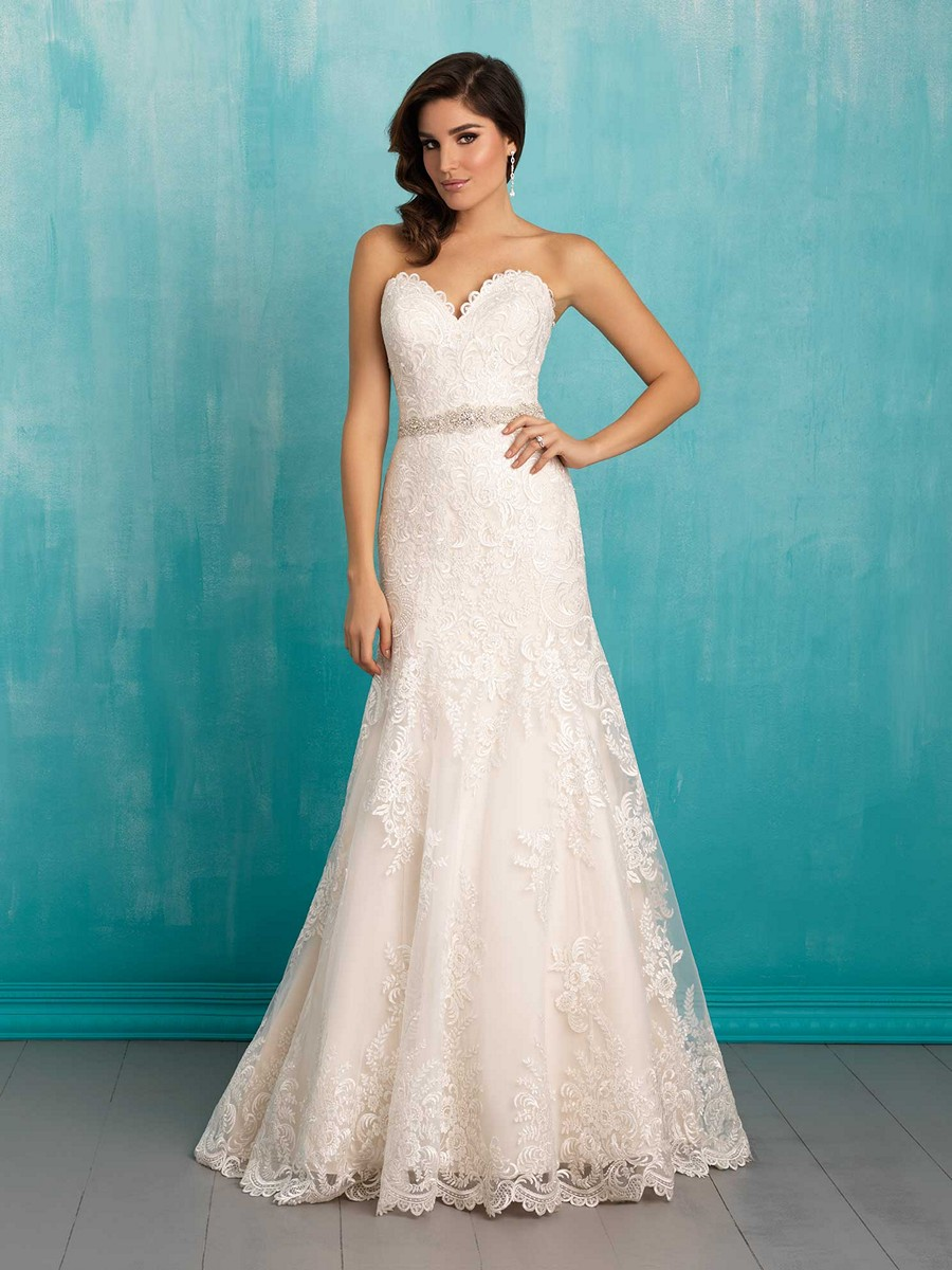 Perfect Wedding Dresses Fit And Flare Adornment - All Wedding ...