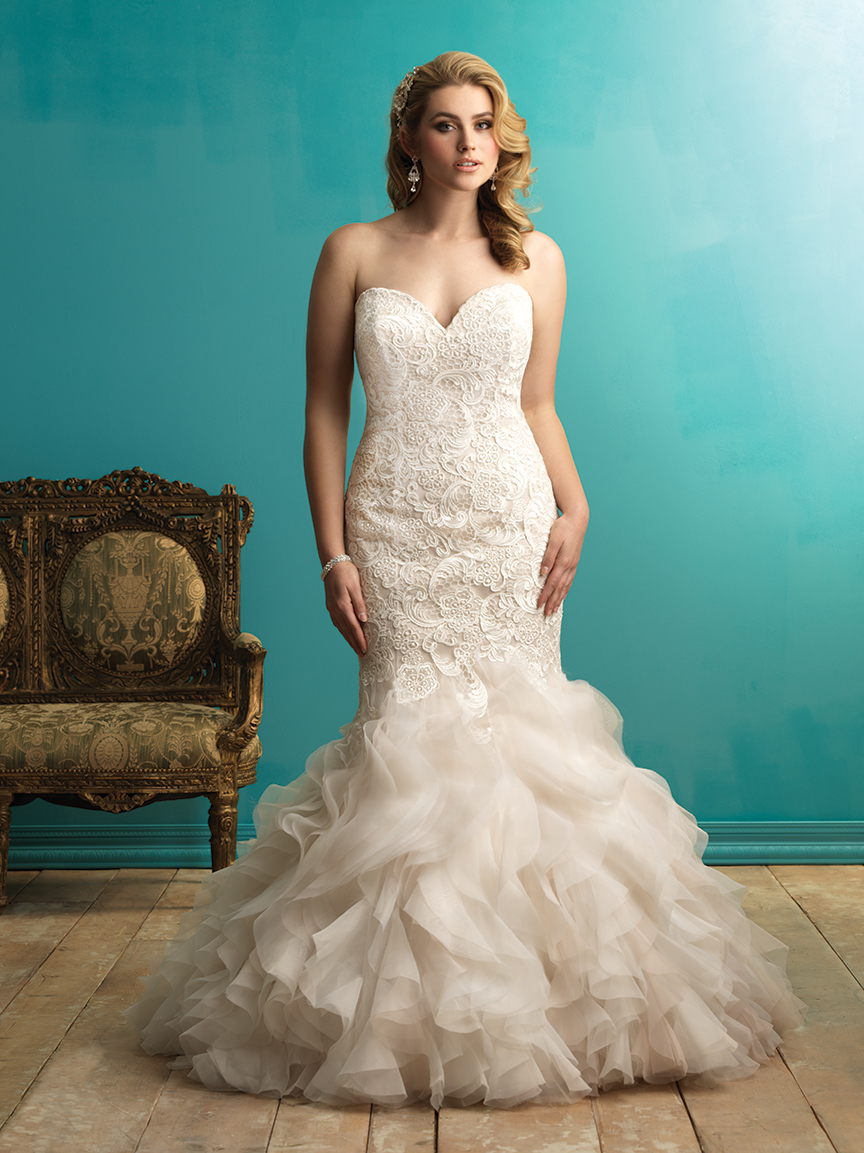 Allure Bridals W365 Plus Size Bridal Gown | MadameBridal.com