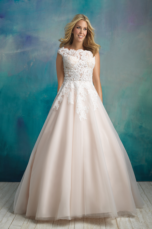 Allure Bridals W419 Dress - MadameBridal.com