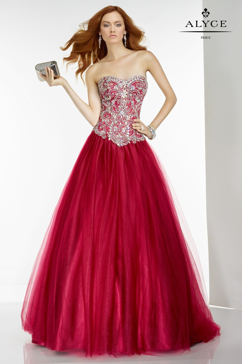 Alyce Paris 6547 Prom Dress Madamebridalcom
