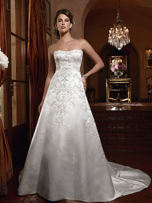 Casablanca bridal 2032 wedding dress madamebridalcom for Casablanca wedding dress