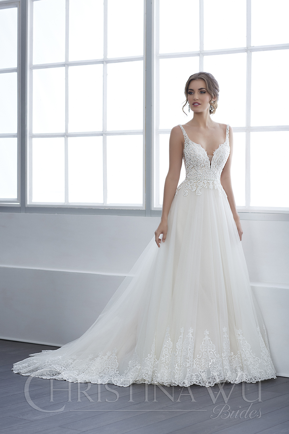 Christina Wu 15651 Dress - MadameBridal.com