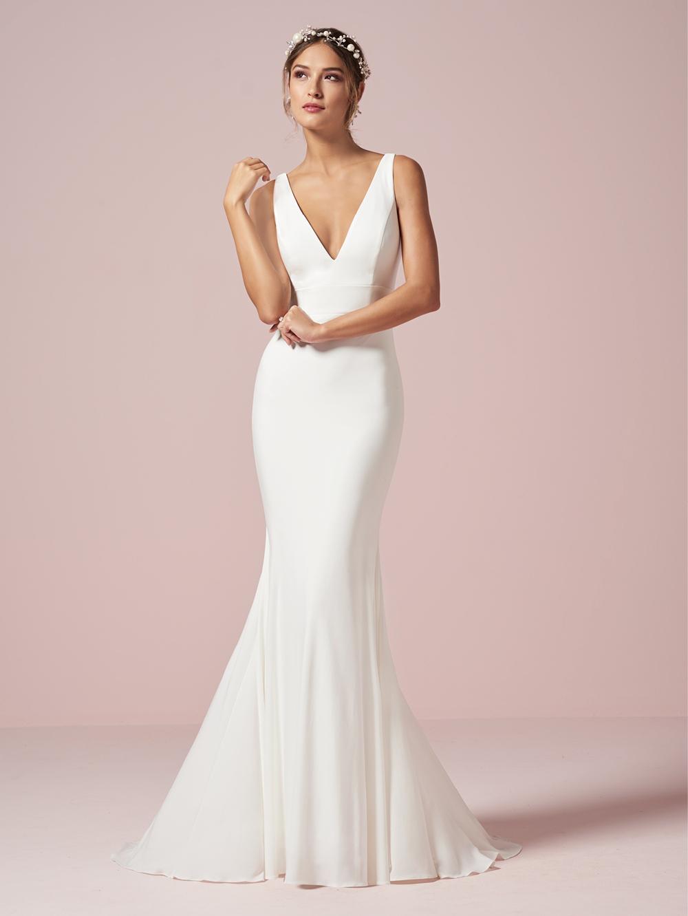 Christina Wu 20 V Neck Destination Wedding Dress