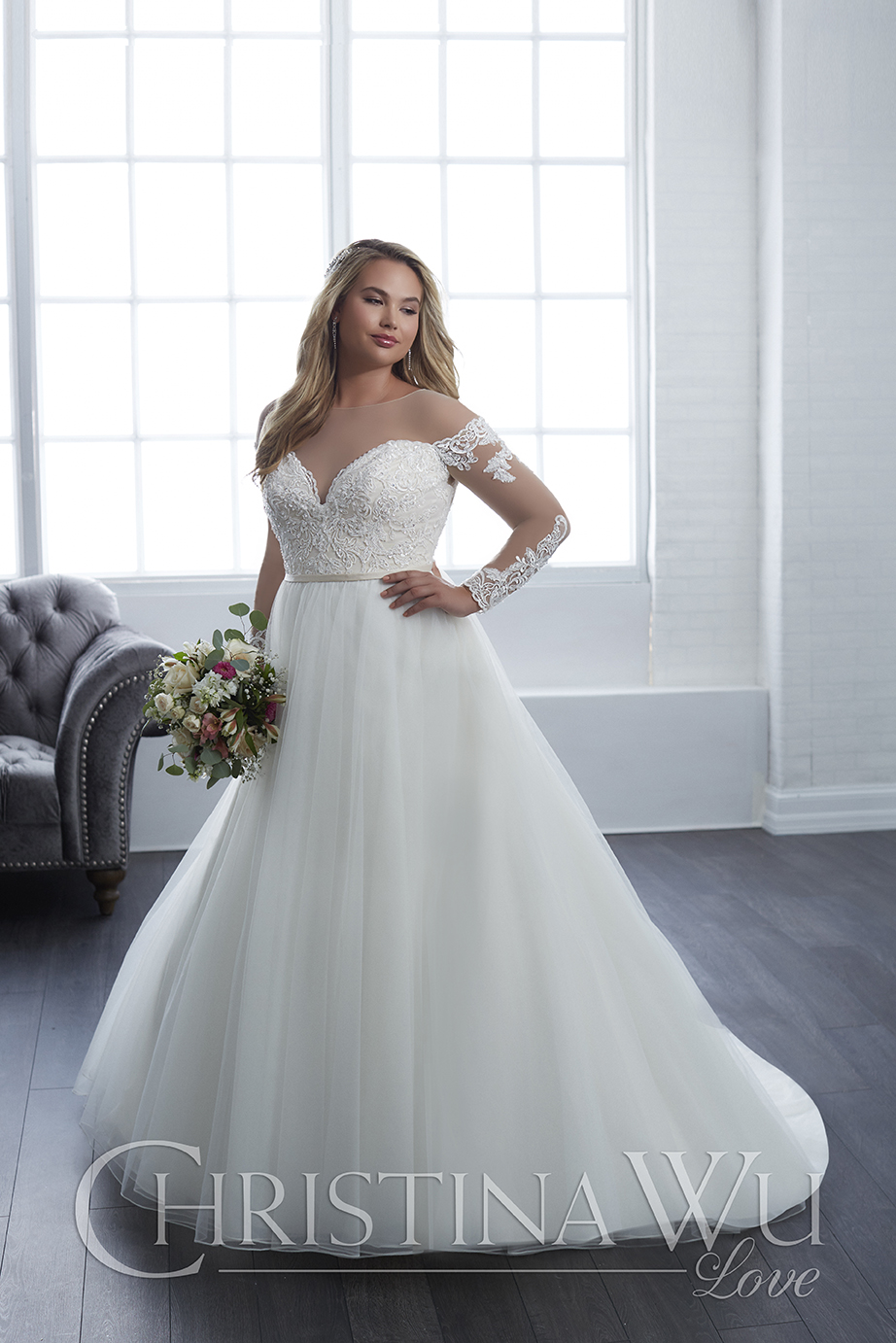 Christina Wu Love 29301 Dress - MadameBridal.com