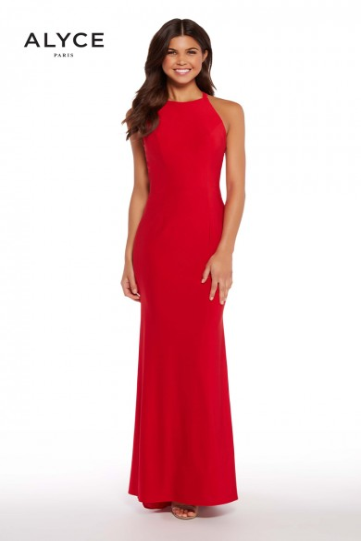 Alyce Paris 60012 Crisscross Back Prom Gown