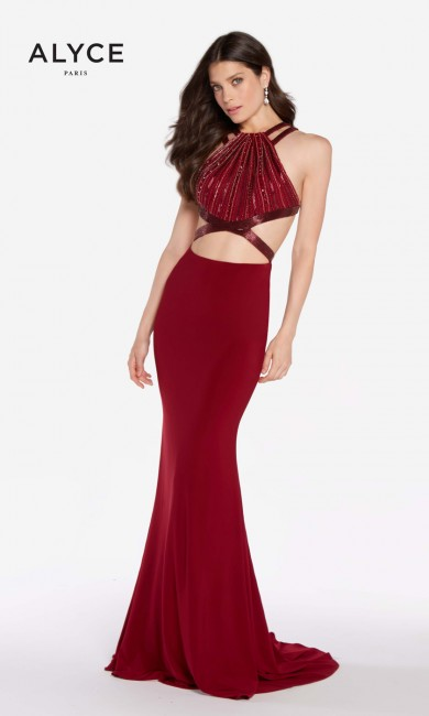 Alyce Paris 60015 Racerback Prom Dress