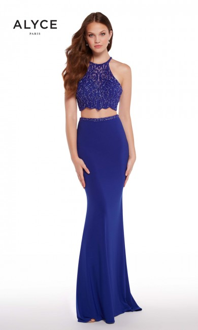 Alyce Paris 60020 Strappy Back Long Party Dress