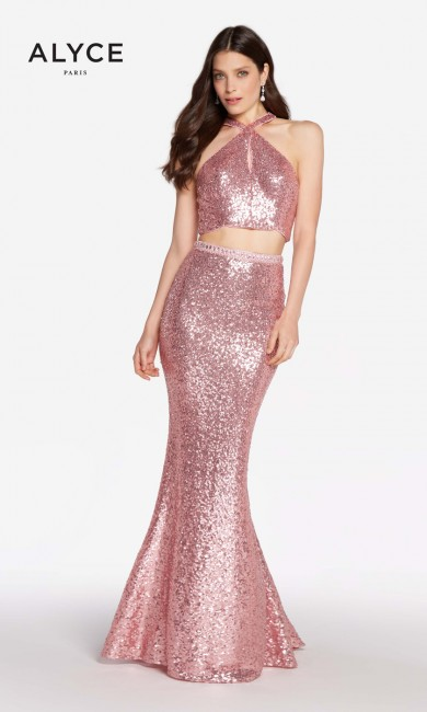 Alyce Paris 60030 Sequined Formal Dress