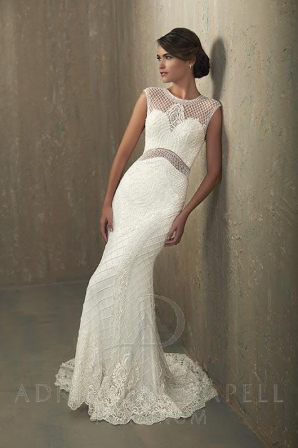Adrianna Papell 31056 Nicole Wedding Dress Madamebridal Com