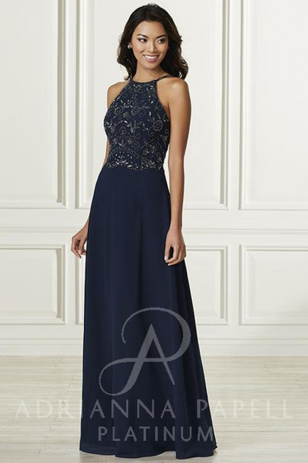 Adrianna Papell 40169 Dress Madamebridal Com