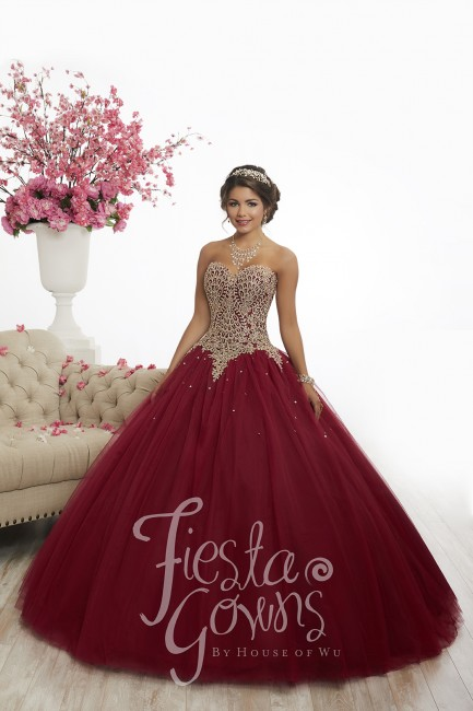 Fiesta Gowns by House of Wu - Dress Style 56341
