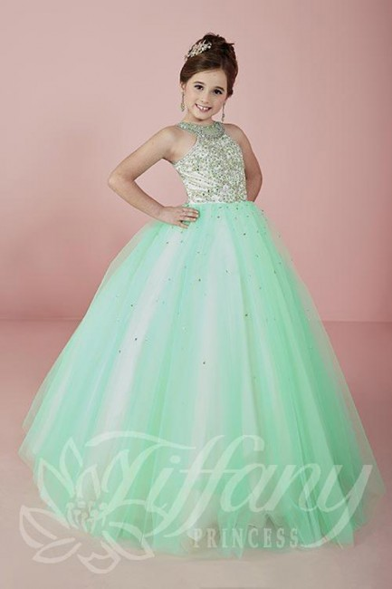 Tiffany Princess 13470 Pageant Dress Madamebridal Com