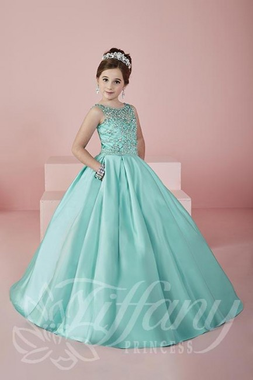 Tiffany Princess 13472 Pageant Dress