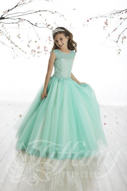 Tiffany Princess 13507 Pageant Dress