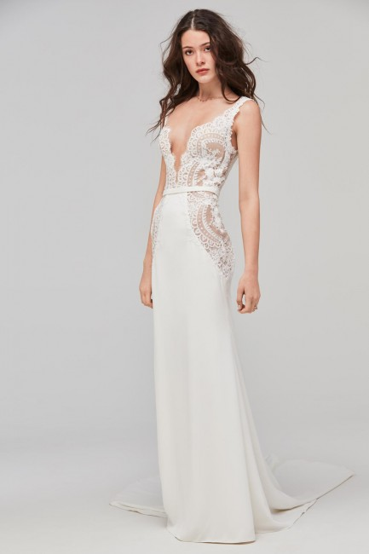 Willowby 59420 Lief V Neckline Bridal Dress