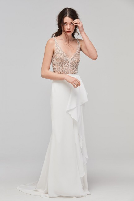 Willowby 59601 Fladdra Bridal Bodysuit
