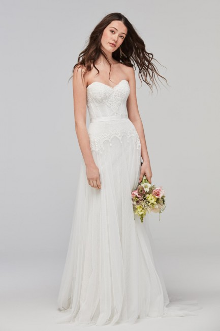 Willowby 59704 Lupine Strapless Wedding Dress
