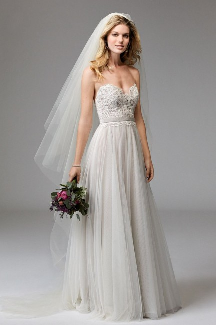 WTOO 17711B Della Wedding Dress