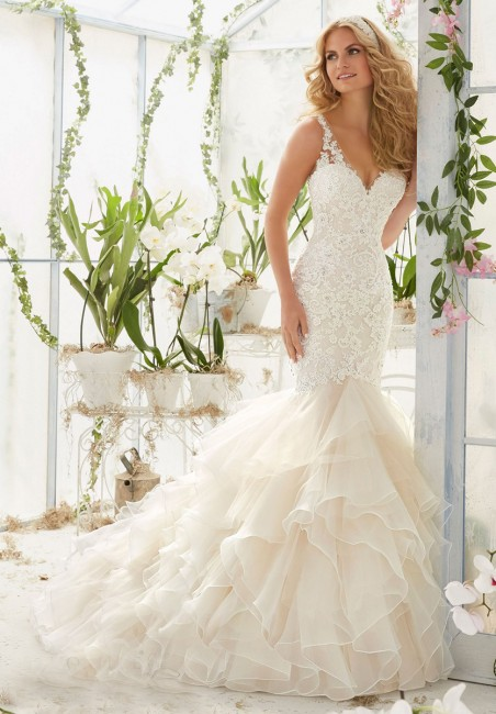 Mori Lee 2819 Wedding Dress