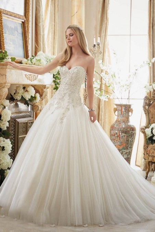 Mori Lee 2892 Wedding Dress