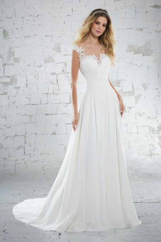 Mori Lee - 6885 Beach Wedding Dress
