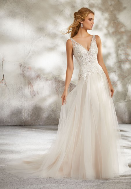 caced11727 Mori Lee 8277 Luana Dress - MadameBridal.com