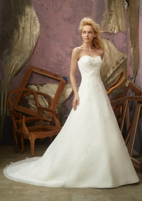 Mori Lee 2105 Quick Delivery Wedding Dress