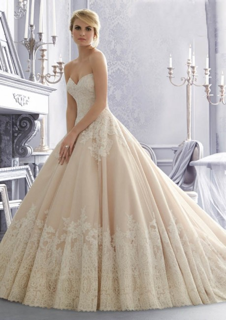 Mori Lee 2674 Wedding Dress